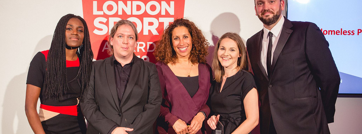 SHP crowned winner at London Sport Awards