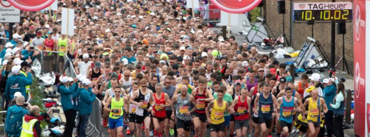 Run the London Marathon - October 2021