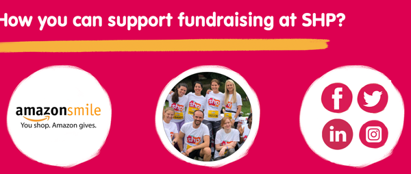 How you can support Fundraising at SHP