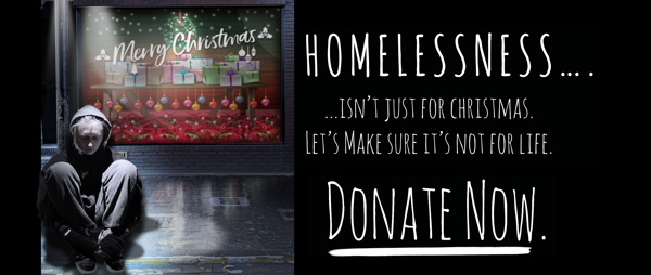 Homelessness isn't just for Christmas